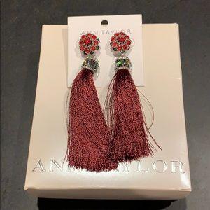 Ann Taylor Tassle Earrings
